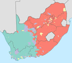 Sub Saharan Africa Map Quiz by Race Ethnicity And Language In South Africa World Elections