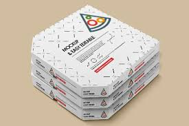 pizza box mock up by alexvisual on creativemarket product