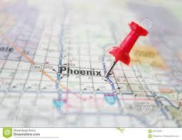 Phoenix Map by Phoenix Arizona Map Stock Photo Image 64974369