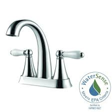 pfister kaylon 4 in centerset 2 handle bathroom faucet in