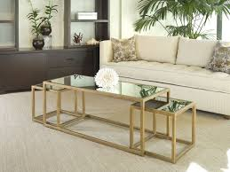 gold nesting coffee table nesting coffee table modern advantages of nesting coffee tables