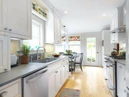 kitchen cabinets galley style best kitchen cabinets galley style arched french doors in galley