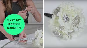 brooch bouquet tutorial easy diy brooch bouquet a how to wedding project