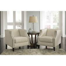 Ashley Furniture Accent Chairs Kieran Accent Chair In Cream By Ashley Furniture 4400022 Ashley