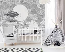 Washable Wallpaper For Kitchen Backsplash by Removable Wallpaper Etsy