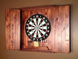 rustic dartboard cabinet cedar home decor home u0026