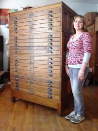 blueprint flat file cabinet vintage industrial antique dietzgen 20 drawer wood blueprint flat