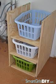 Laundry Room Shelves And Storage by 42 Laundry And Laundry Baskets Shelves Using Shelf Brackets