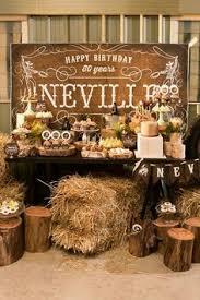 western birthday ideas buffet westerns and birthdays