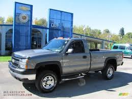 Chevy Silverado Work Truck 4x4 - 2006 chevrolet silverado 2500hd work truck regular cab 4x4 in