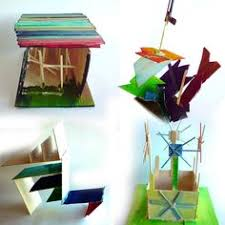 Kids Wood Crafts - fun with balsa wood projects to make with kids pinterest