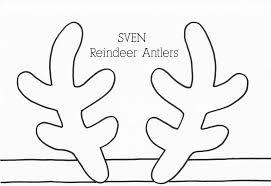 reindeer antlers coloring pages u2014 allmadecine weddings reindeer