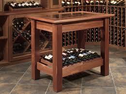 wine table tasting table wine room furniture