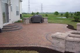 Backyard Patio Designs Ideas by The Modern Design Of The Brick Patio Ideas Amazing Home Decor