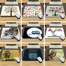 desk size mouse pad maiyaca funny owl animal desk aming mouse pad size 22x18x0 2cm