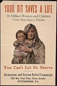 Seeking Poster Poster Seeking Help For Starving Armenians Photograph Via