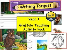 year 1 2 gruffalo teaching resource pack english creative