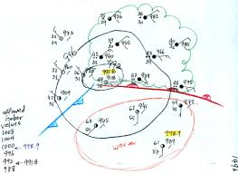 Cold Front Map Mon Sep 28 Notes