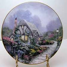 chandler s cottage collector plate by kinkade