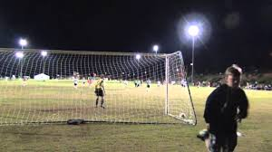 goalkeeper shawn mallen s point of view vs arsenal fc at san