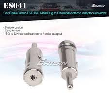 Radio S Car Antenna Adapter Iso Male Plug To Din Aerial Antenna Adaptor Converter Car Radio