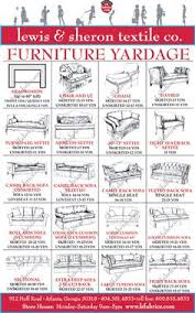 How To Calculate Yardage For Upholstery Upholstery Yardage Calculator Helpful Tips Pinterest