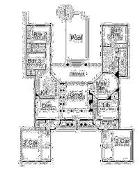 classical house plans classical style house plan 3 beds 3 50 baths 3489 sq ft plan