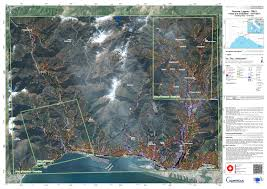 Liguria Italy Map by Copernicus Emergency Management Service Copernicus Ems Mapping