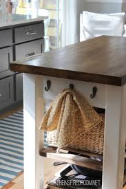 Antique Butcher Block Kitchen Island Make Your Own Butcher Block Cart Dors And Windows Decoration