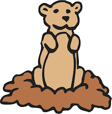 groundhog day free clipart for kids cliparting com