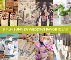 summer wedding favors bashblok 8 summer wedding favor ideas