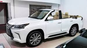 lexus suv the 340 000 lexus suv convertible youtube