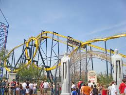 How Many Flags Have Flown Over Texas Batman The Ride Six Flags Over Texas
