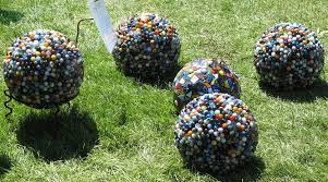 Craft Ideas For The Garden Bowling Mosaic Garden Ideas 8 Diy For