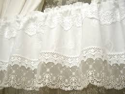 French Lace Kitchen Curtains Vintage Gardine French Nordic Style Shabby 249 Nordic Style