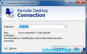 accès bureau à distance prendre le contrôle d un ordinateur via le bureau à distance