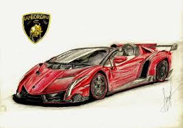 lamborghini car drawing drawn lamborghini lamborghini veneno roadster pencil and in