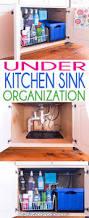cabinet under kitchen sink organization organizing tips for