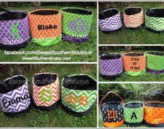halloween bucket by snookemlilies on etsy check out facebook and