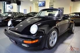 porsche 930 turbo wide body porsche 911 cabriolet black ruf manual widebody turbo wing spoiler