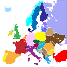 Blank Map Of Mediterranean by Europe Map With Cities Blank Outline Map Of Europe