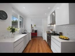 modern white galley kitchen kitchen love pinterest amazing style
