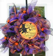 How To Make Halloween Mesh Wreaths by Deco Mesh Wreath Holiday Decorstion Ideas Pinterest Deco