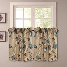 Insulated Window Curtains Thermal Insulated Ultra Soft Rustic Kitchen Curtains