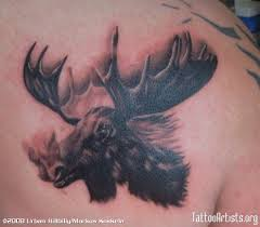 moose tattoos for women pictures to pin on pinterest tattooskid
