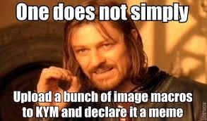 Upload Meme - fancy crab know your meme