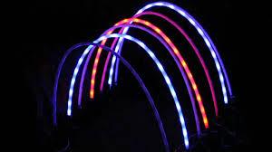 christmas 8 piece led path arches multi colour xa7281 youtube