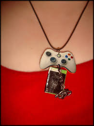 skyrim dragon pendant necklace images Skyrim xbox 360 necklace with dragon by thezombiejester jpg