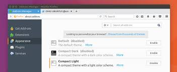 change themes on mozilla these are the new themes shipping in firefox 53 omg ubuntu