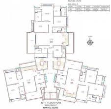 azure floor plan marvel azure in hadapsar pune flats for sale in marvel azure
